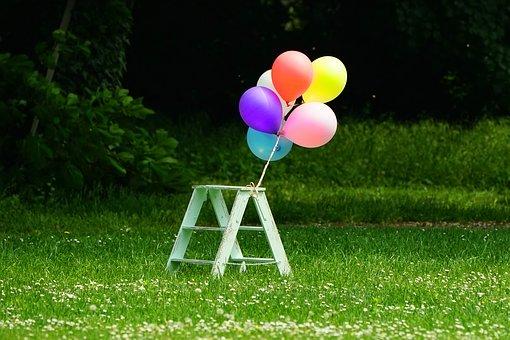 balony urodzinowe z helem